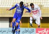 لیگ دسته اول فوتبال| دیدار استقلال خوزستان - ملوان نیمهتمام ماند/ نیروی زمینی مقابل قشقایی به تساوی رسید