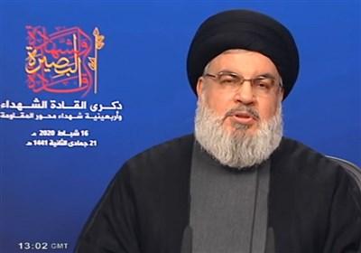 دبیرکل حزب الله: ما نیاز به «مقاومت فراگیر» داریم/ تحریم کالاهای آمریکا بخشی از نبرد است