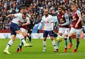 لیگ برتر انگلیس| برد دراماتیک تاتنهام در ویلاپارک با درخشش «سون»