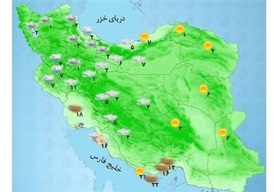 ۱۱ استان در سطح نارنجی هواشناسی/ آماده باش هلالاحمر