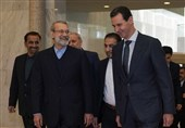 Larijani Reiterates Iran's Support for Syria