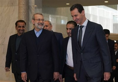 Larijani Reiterates Iran's Support for Syria