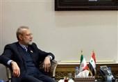 لاریجانی:همکاری تهران و دمشق تاکتیکی نیست