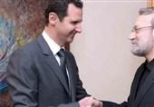 علی لاریجانی کی شامی صدر سے ملاقات، دوطرفہ تعلقات پر تبادلہ خیال