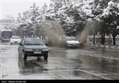برف و باران در جادههای 9 استان