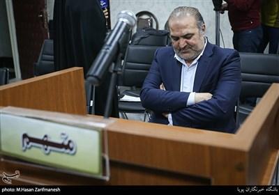 جلسه رسیدگی به اتهامات مجید عادلیان و احسان خادم( ششمین پرونده بانک سرمایه)