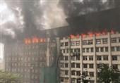 Massive Fire Break through India's Mumbai Building (+Video)