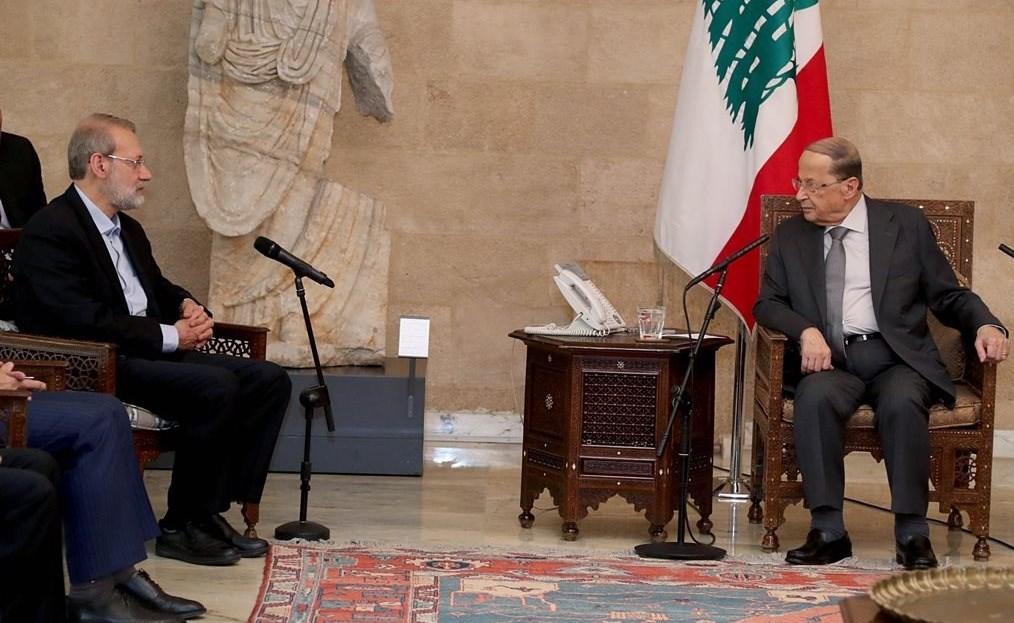 علی لاریجانی , لبنان ,