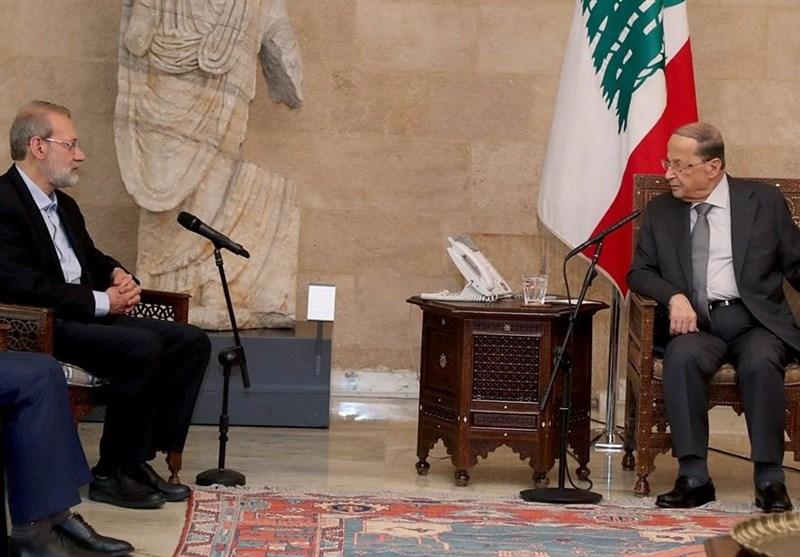 Iranian Speaker Meets Lebanese Counterpart, President in Beirut