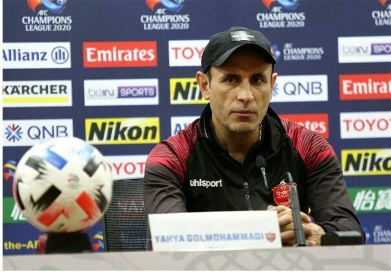 Persepolis Lost Concentration against Sharjah: Yahya Golmohammadi
