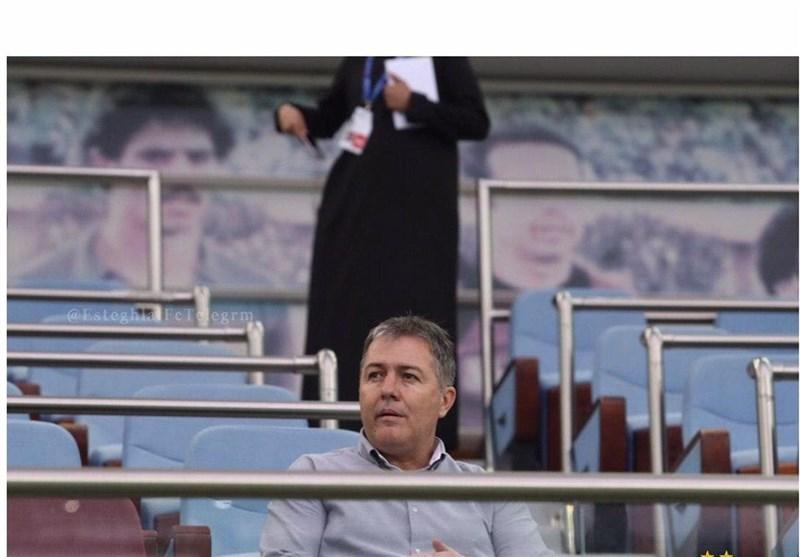 Dragan Skocic to Watch Paykan v Persepolis at Azadi