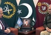 پاک فوج کے سربراہ سے اقوام متحدہ کے سیکریٹری جنرل کی ملاقات