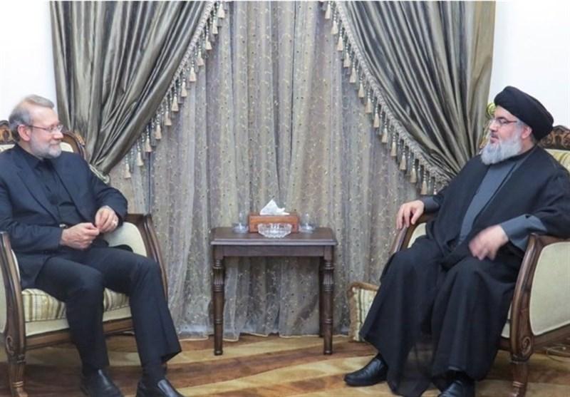 Iran's Larijani Meets Resistance Figures in Lebanon