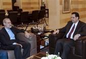 لاریجانی: آماده همکاری با دولت دیاب هستیم / حزب الله پشتیبان ملت لبنان است