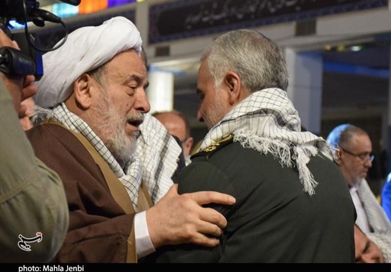 """خاطره شنیده نشدۀ حجتالاسلام انصاریان از """"شهید سلیمانی"""""""