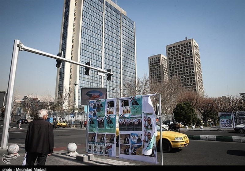 Police Step Up Security ahead of Iran Parliamentary Elections