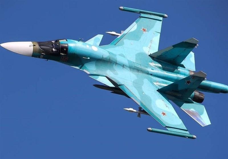 """تحویل دهها فروند جنگنده پیشرفته """"سوخو-34"""" به نیروهای هوا فضای روسیه"""
