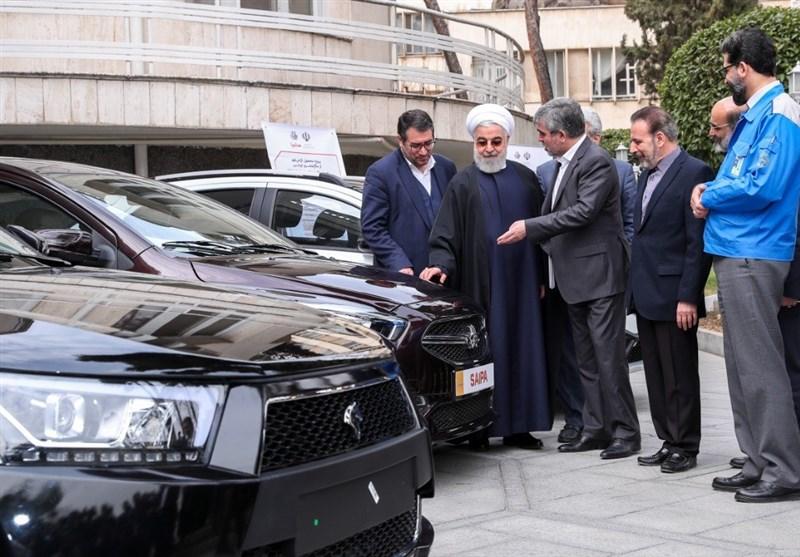 رونمایی از 4 خودرو جدید در حاشیه جلسه هیات دولت