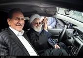 رونمایی از چهار خودرو تولید داخل با حضور حجتالاسلام حسن روحانی رئیسجمهور و اسحاق جهانگیری معاون اول رئیس جمهور