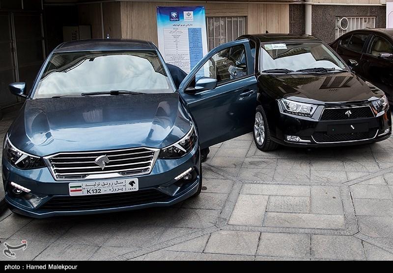 رونمایی از چهار خودرو تولید داخل در حاشیه جلسه هیئت دولت