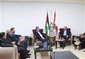 دیدار النخاله با رهبران حماس در بیروت/ تاکید بر گزینه مقاومت برای مقابله با توطئه قرن