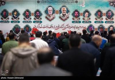 گرامیداشت سردار سپهبد شهید حاج قاسم سلیمانی در ستاد فرماندهی نیروی زمینی سپاه