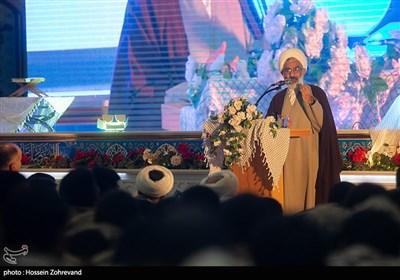 سخنرانی حجتالاسلام عبدالله حاجیصادقی نماینده ولی فقیه در سپاه پاسداران انقلاب اسلامی