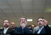 بازدید عبدالرضا رحمانی فضلی وزیر کشور از ستاد انتخابات کشور