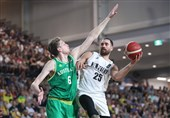 بسکتبال انتخابی کاپ آسیا  استرالیا مغلوب نیوزیلند شد
