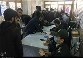 People of Qom Cast Ballots despite Coronavirus Fears (+Video)