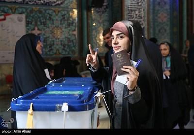 انتخابات یازدهمین دوره مجلس شورای اسلامی و میاندورهای خبرگان رهبری در حسینیه ارشاد