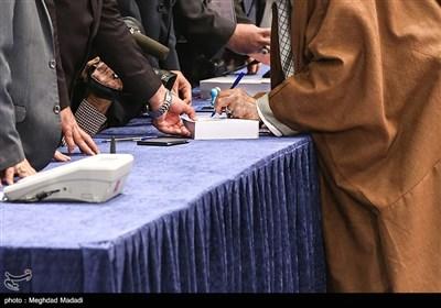 حضور رهبر معظم انقلاب پای صندوق رای