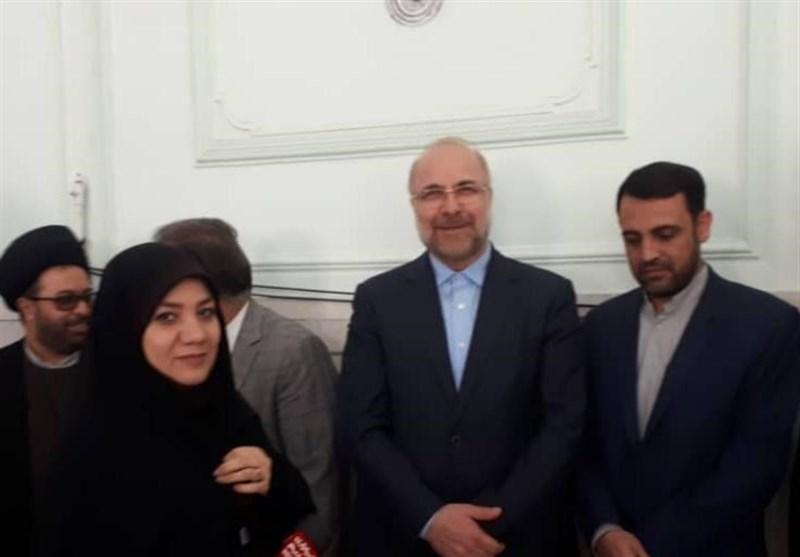 تهران| قالیباف رأی خود را در مسجد خاتم الانبیا واوان به صندوق انداخت + فیلم