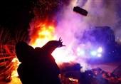 Coronavirus: Ukrainian Protesters Hurl Stones at Evacuees from China