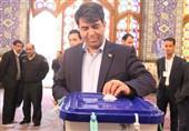 انتخابات ایران | استاندار یزد رای خود را به صندوق انداخت