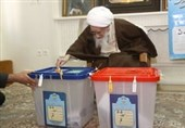 انتخابات ایران| آیتالله صافی گلپایگانی در انتخابات شرکت کرد