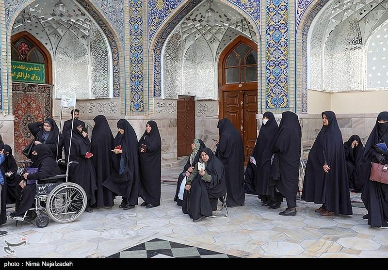 women voted in Mashhad