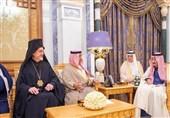 دیدار یک خاخام صهیونیست با پادشاه سعودی