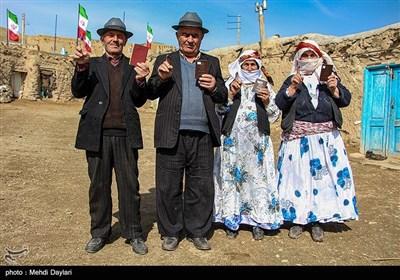 انتخابات یازدهمین دوره مجلس شورای اسلامی در روستاهای قشلاقی و عشایری شهرستان اهر