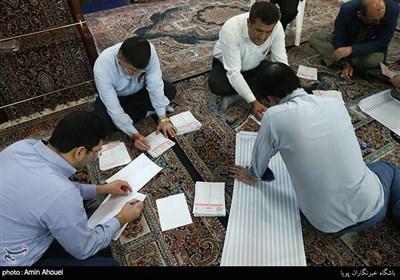 شمارش آرا در شعب اخذ رای تهران