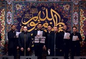 دلنوشته میثم مطیعی درباره همخوانی مداحان عراقی برای شهدای مقاومت + فیلم