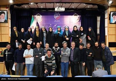 خبرنگاران حاضر در ستاد انتخابات کشور