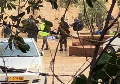 استشهاد فلسطینی على مدخل باب حطة قرب المسجد الأقصى