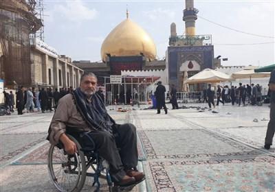 محمدرضا رجبی جانباز ۷۰ درصد قطع نخاعی آسمانی شد + عکس