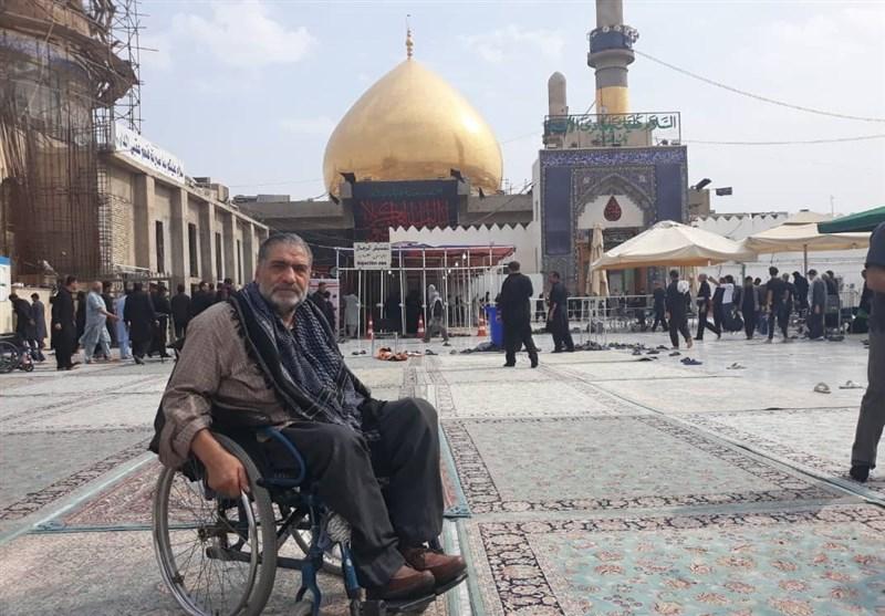 محمدرضا رجبی جانباز 70 درصد قطع نخاعی آسمانی شد + عکس