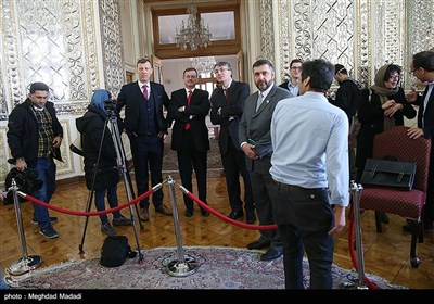 دیدار وزیرخارجه اتریش با ظریف