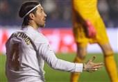 انتقاد تند راموس از داور بازی رئال مادرید - لوانته