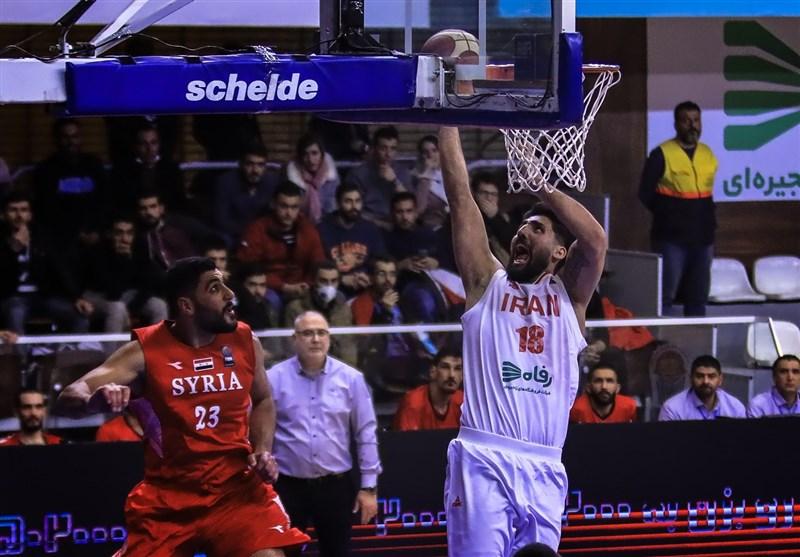 Iran Downs Qatar at FIBA Asia Cup Qualifier