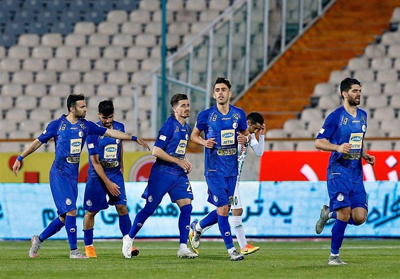 Esteghlal Beats Zob Ahan in Iran Professional League