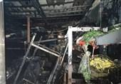 تهران| آتشسوزی بامدادی در بیمارستان + تصاویر
